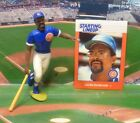 1988  LEON DURHAM - Starting Lineup - SLU - Card & Figure - CHICAGO CUBS