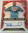 Tim Howard 12 30 His # 2016-17 Panini Spectra Auto Autograph Red Prizm USA
