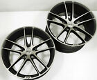 NICHE ENYO M115 20 x 85 105 BLACK RIMS WHEELS LEXUS LS430 5x1143 +42