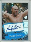 Randy Couture The Natural 2010 Topps UFC Refractor Card Auto MMA HOF Autograph
