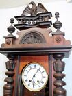 Antique Regulator Clock German 19th century Clock with Very Beautiful LENZKIRCH