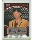 Randy Couture UD Prominent Cuts Card Auto MMA HOF Autograph OSU Oklahoma State