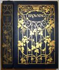1907 BROWNING POET AND MAN CARY SIGNED DECORATIVE BINDING MARGARET ARMSTRONG
