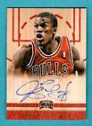 JIMMY BUTLER 2012-13 PANINI THREADS AUTOGRAPH ON CARD AUTO ROOKIE RC