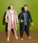 Doctor Who Time Crash figure set 5th  10th Dr collectors SDCC