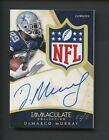 2014 Immaculate DeMarco Murray Cowboys NFL Shield Logo Patch AUTO 1 1
