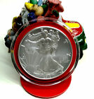 BUY NOW 1oz 2017 AM SILVER EAGLE 1 COIN YOUR CHOICE OF 6 COLORED RIMS Gifts