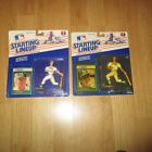 1989 MARK MCGWIRE JOSE CANSECO OAKLAND A's KENNER STARTING LINEUP SLU MOC SEALED