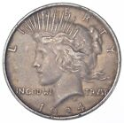 Early 1924 Peace Silver Dollar 90 US Coin 709