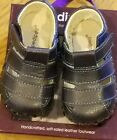 New Pediped originals Ross navy leather soft sole sandals12 18 moNWT