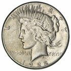 Early 1922 S Peace Silver Dollar 90 US Coin 875