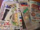 Assorted Scrapbooking Embellishments Stickers CHOICE FLAT SHIP 100+Designs