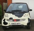 LOW MILEAGE 2003 SMART FOR TWO CABRIOLET YEARS MOT LOVELY LITTLE CAR