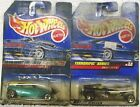 2 HOT WHEELS-STREET RODS 1/64 SCALE DIECAST CARS--