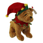 TY Beanie Baby - ELFIS the Holiday Dog (Learning Express Exclusive) (6 inch)