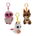 TY Beanie Boos - SET of 3 FALL 2017 Releases (Pixy, Twiggy & Kipper) (Key Clips)