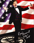 RENE RANCOURT AUTOGRAPH SIGNED 8X10 PHOTO BOSTON BRUINS STRONG COLLAGE