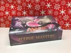 2017 MAGIC the GATHERING ICONIC MASTERS FACTORY SEALED BOOSTER BOX 24 PACKS