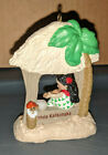 Hallmark 1987 Windows of the World Polynesia Mele Kalikimaka Ornament Series # 3