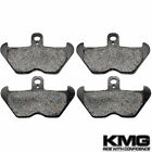 Front Organic NAO Brake Pads For 1997-2000 BMW R 850 C (Spoke wheel/ABS)