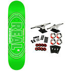 Real Skateboard Complete Oval Remix Green 775