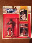 1990 MICHAEL JORDAN Chicago Bulls Kenner Starting Lineup + 1984 card