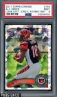 2011 Topps Chrome Crystal Atomic Refractor A.J. Green RC Rookie 199 PSA 9