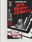 Legends of Kid Death and Fluffy 1 BW Cover Event Comics cgo
