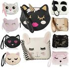 Luv Betsey Johnson Cat Zippered Wristlet Coin Money Cosmetic Purse Pouch Bag