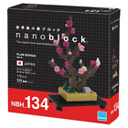Plum Bonsai Nanoblock Miniature Building Blocks New Sealed Pk NBH 134
