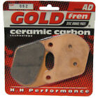 Rear Disc Brake Pads for Harley Davidson XR1000 1984 1000cc By GOLDfren