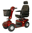 Shoprider Sprinter XL4 Deluxe 4 Wheel Mobility Scooter Red