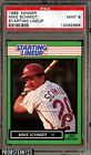 1989 Kenner Starting Lineup Mike Schmidt Phillies HOF PSA 9 MINT