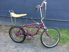 Schwinn Stingray Bicycle 20 Inch Purple 3 Speed Born in Sept 1966 Sting Ray