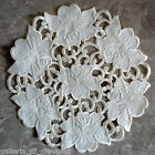 Vanilla Rose Lace 11 Doily Cream Flower Floral