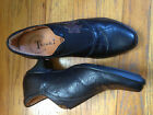 Think 37 US 6 65 Womens Black Leather Shoes
