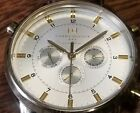 Men's Tommy Hilfiger watch Stainless steel leather band quartz