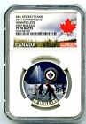 2017 10 CANADA SILVER PROOF NHL NGC PF70 WINNIPEG JETS PASSION TO PLAY FR