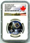 2017 10 CANADA SILVER PROOF NHL NGC PF70 TORONTO MAPLE LEAFS PASSION TO PLAY FR