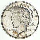 Over 90 Years Old 1922 Peace Silver Dollar 90 Silver 183