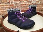 Tony Little Cheeks Navy Blue Water Repellent Sporty Sneaker Ankle Boot 9 NEW