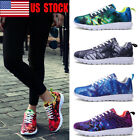 USA Men Women Couple Sneakers Jogging Casual Athletic Mesh Breathable Shoes Size