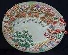 Fitz And Floyd Christmas Candy Lane Express Platter