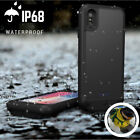 Rechargeable Waterproof Battery Power Charging Backup Case Cover For iPhone X 8