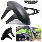 Black No Groove Tires Motorcycles Rear Wheel Cover Fender Splash Guard Mudguard
