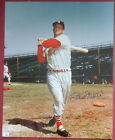 Vintage Stan Musial signed auto 8x10 photo Cardinals- Authen. Guaranteed-60 Days