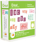 New PRINTING PRESS Font Letters Cricut Cartridge Factory Sealed Free Ship