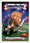 2017 Garbage Pail Kids Wacky Packages 4th July (9) Set 126 Made Donald Trump