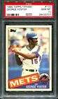 1985 TOPPS TIFFANY #170 GEORGE FOSTER METS PSA 10 B2526403-707