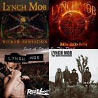Lynch Mob: 4 Audio CD Studio Albums The Brotherhood + Wicked Sensation + More!